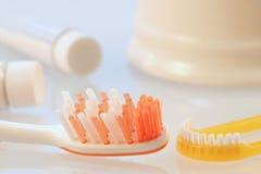 Mundhygiene Stockfotografie