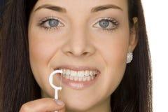 Mundhygiene Stockfoto