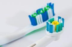 Mundhygiene Stockbild