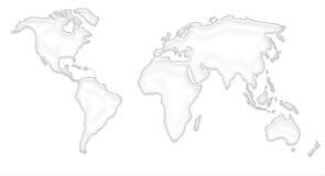 Mundi Map Royalty Free Stock Photo