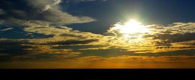 Mundi Mundi Sunset Royalty Free Stock Photos