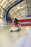 Mundial Calgary Canadá 2014 del trineo Fotos de archivo libres de regalías
