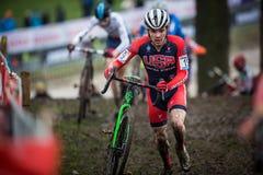 Mundial Cyclocross - Hoogerheide, Países Bajos de UCI Imagen de archivo libre de regalías