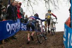 Mundial Cyclocross - Hoogerheide, Países Bajos de UCI Fotografía de archivo