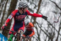 Mundial Cyclocross - Hoogerheide, Países Bajos de UCI Fotos de archivo