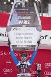 Mundial de esquí 12/28/2017 del freeride de Bormio fotografía de archivo libre de regalías
