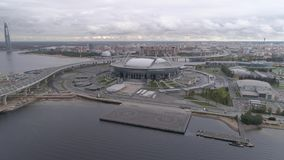 2018 mundial de la FIFA, estadio de Rusia, St Petersburg, St Petersburg almacen de video