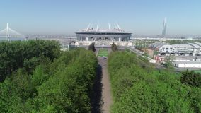 2018 mundial de la FIFA, estadio de Rusia, St Petersburg, St Petersburg metrajes