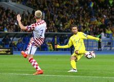 Mundial 2018 de la FIFA que califica: Ucrania v Croacia Fotos de archivo