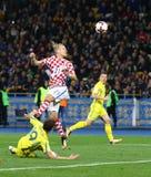 Mundial 2018 de la FIFA que califica: Ucrania v Croacia Imagen de archivo