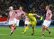 Mundial 2018 de la FIFA que califica: Ucrania v Croacia Imágenes de archivo libres de regalías