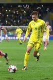 Mundial 2018 de la FIFA que califica: Ucrania v Croacia Fotografía de archivo