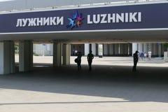 Mundial de Luzhniki del puente Fotografía de archivo libre de regalías
