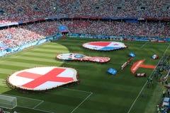Mundial de Panamá Inglaterra - 2018 imagen de archivo