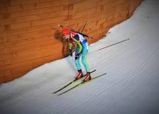Mundial 2016 del Biathlon Fotos de archivo