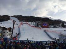 Mundial del esquí en Bormio Imagenes de archivo