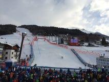 Mundial del esquí en Bormio Fotografía de archivo