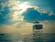 Mundial 2017 del esquí del jet en la playa de Jomtien en Chon Buri, Tailandia Fotos de archivo