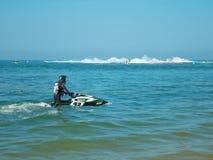 Mundial 2017 del esquí del jet en la playa de Jomtien en Chon Buri, Tailandia Imagen de archivo libre de regalías
