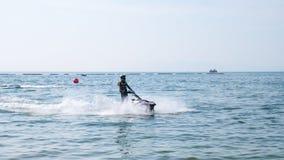 Mundial 2017 del esquí del jet en la playa de Jomtien en Chon Buri, Tailandia Fotografía de archivo