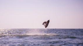 Mundial 2017 del esquí del jet en la playa de Jomtien en Chon Buri, Tailandia Foto de archivo