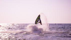 Mundial 2017 del esquí del jet en la playa de Jomtien en Chon Buri, Tailandia Imágenes de archivo libres de regalías