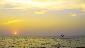 Mundial 2017 del esquí del jet en la playa de Jomtien en Chon Buri, Tailandia Imagen de archivo