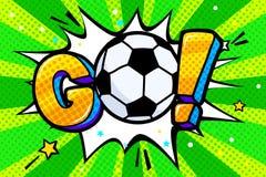 Mundial 2018 del fútbol Imagen de archivo libre de regalías