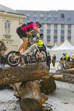 Mundial en las bicicletas de ensayo Fotografía de archivo libre de regalías