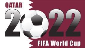 Mundial Qatar 2022 de la FIFA Fotos de archivo libres de regalías