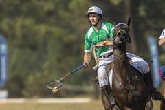 Mundial Rider Action de PoloCrosse Imagen de archivo