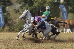 Mundial Rider Action de PoloCrosse Imagenes de archivo