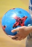 MUNDIALITO - το ποδόσφαιρο 2017 Carcavelos Πορτογαλία Στοκ Φωτογραφία
