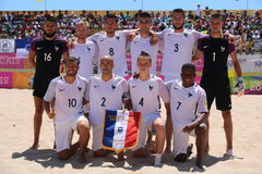 MUNDIALITO - FRANCE BEACH SOCCER TEAM Stock Photos
