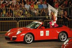 Mundo 2009 de Srta. Singapur en Eurasiana Fotos de archivo libres de regalías