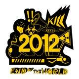 mundo 2012 ilustración del vector