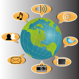 Mundo Foto de Stock