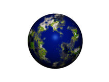 Mundo 3d Imagens de Stock