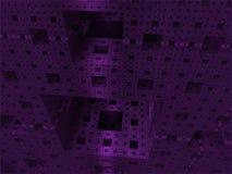 Mundo abstracto del cubo del fondo fotografía de archivo libre de regalías