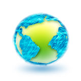 Mundo abstrato Imagem de Stock