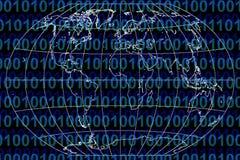Mundo binário Fotos de Stock