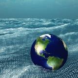 Mundo binario Imagenes de archivo