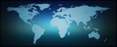 Mundo binario de Digitaces Foto de archivo libre de regalías