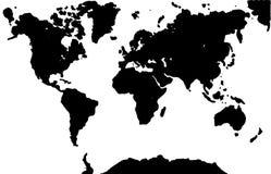 Mundo blanco stock de ilustración