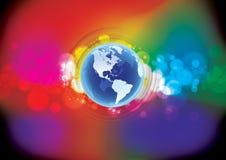 Mundo bonito Imagens de Stock Royalty Free