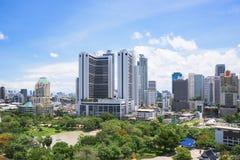 Mundo central (CTW) de compras de las alamedas el centro de la ciudad famoso adentro de Bangkok Fotos de archivo