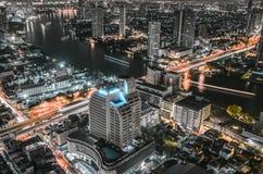 Mundo central (CTW) de compras de las alamedas el centro de la ciudad famoso adentro de Bangkok Foto de archivo libre de regalías