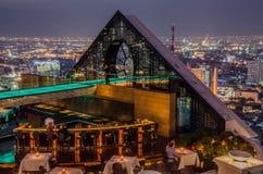 Mundo central (CTW) de compras de las alamedas el centro de la ciudad famoso adentro de Bangkok Imagenes de archivo