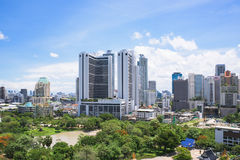 Mundo central (CTW) dos centros comerciais a baixa famosa dentro de Banguecoque Fotos de Stock