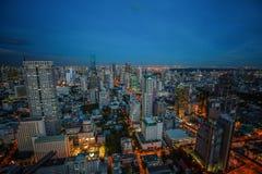 Mundo central (CTW) dos centros comerciais a baixa famosa dentro de Banguecoque Fotografia de Stock Royalty Free